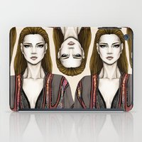 gucci iPad Cases featuring Gucci illustration by Tania Santos