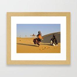 Thar Desert, Rajasthan, India Framed Art Print