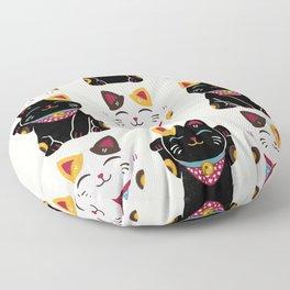 Maneki Neko - Lucky Cats Floor Pillow