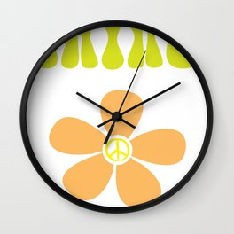 It's a hippie thing Wall Clock