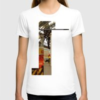 milan T-shirts featuring milan glitch by Martin Summers