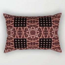 Ultra HDR Geometric Weave Rectangular Pillow