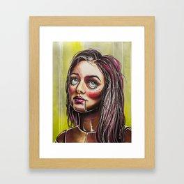 Dummy Doll Framed Art Print
