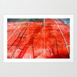 Runway  Art Print