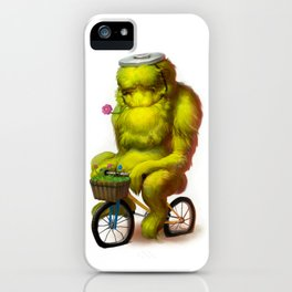 Bike Monster 1 iPhone Case