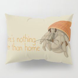 Crab at home in a seashell Pillow Sham