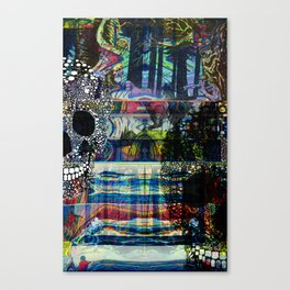 CMYK Requiem pt. 1 Canvas Print