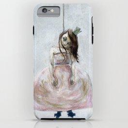 sad princess iPhone Case