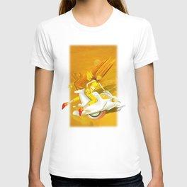 Yellow woman T-shirt