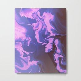 Ultraviolet Storm Metal Print