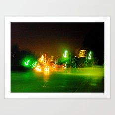 Austin Lights Art Print