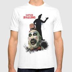 Captain Spaulding: Monster Madness Series Mens Fitted Tee White MEDIUM