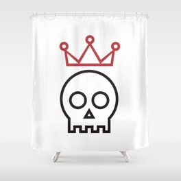 Hamlet. To be or not to be Shower Curtain