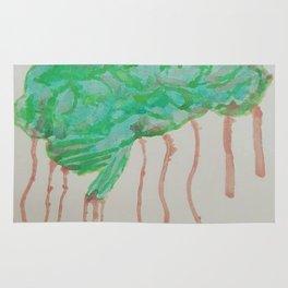 Zombie Brain Rug