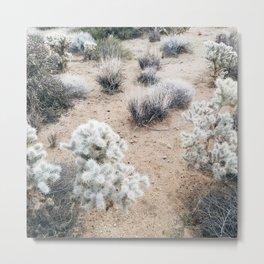 Desert Flora Metal Print