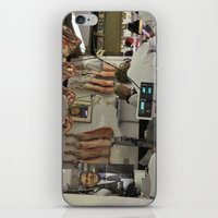 meat iPhone & iPod Skins featuring Meat  by Claire Guerin