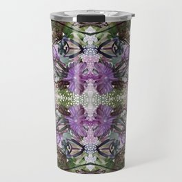 Psychedelic Positive Notes Lavender Zoom Travel Mug