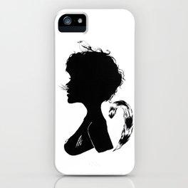 Birdie Silhouette iPhone Case
