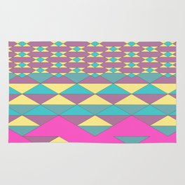 composition 1 - falling apart Rug