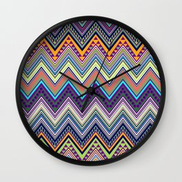 blast of summer Wall Clock