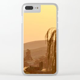 SUNSET OVER EASTERN OREGON Clear iPhone Case