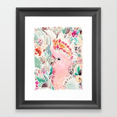 RADANA the Cockatoo Framed Art Print