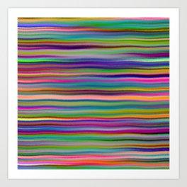 Luminous Waves Art Print