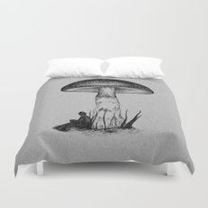 Under the Toadstool Duvet Cover