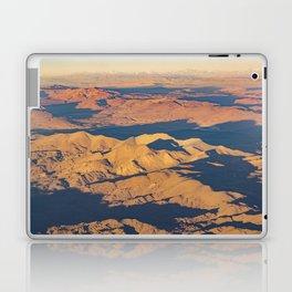 Andes Mountains Desert Aerial Landscape Scene Laptop & iPad Skin