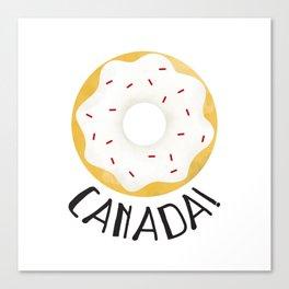 O Canada! Canvas Print