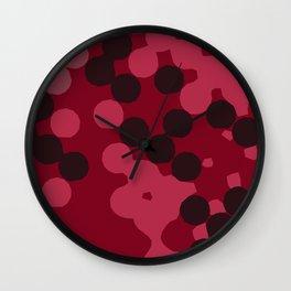 Chunky Dots Wall Clock