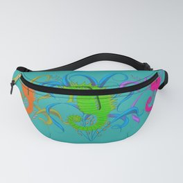 Colorful Family seahorses  Fanny Pack