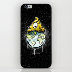 shit rules the world iPhone & iPod Skin