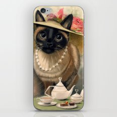 Lady Cat iPhone & iPod Skin