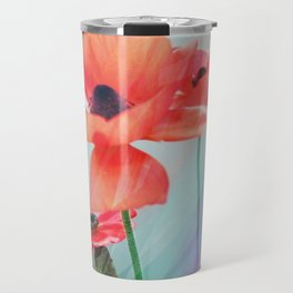 Poppy Rays Travel Mug