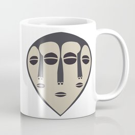 African Tribal Mask No. 5 Coffee Mug