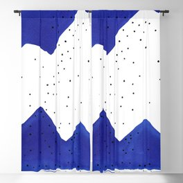 Ultramarine #10 Blackout Curtain