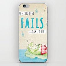 Frog Nap iPhone & iPod Skin