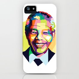 Nelson Mandela | Rainbow Nation iPhone Case