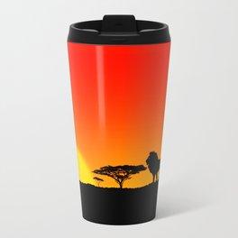 Tardis Sunset Travel Mug