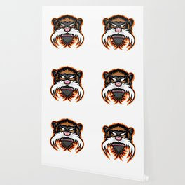 Emperor Tamarin Monkey Mascot Wallpaper