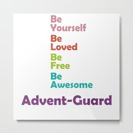Advent-Guard Metal Print