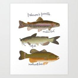 Fisherman's Favorites Art Print