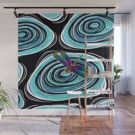 Dragonfly Ripple Wall Mural