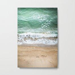 Beachy Metal Print