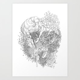 Rotting in Essence #1 Art Print