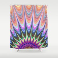 sunrise Shower Curtains featuring Sunrise by David Zydd
