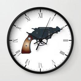 Snub Nose 45 Wall Clock