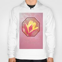 tulip Hoodies featuring Tulip  by LoRo  Art & Pictures