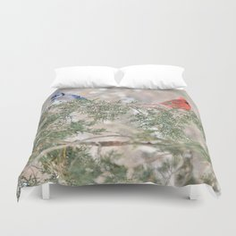 You Stay on Your Side and... Duvet Cover